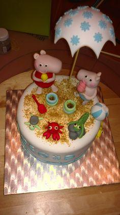 Los dulces de Mayte: TARTA PEPPA PIG PARA CARLOTA