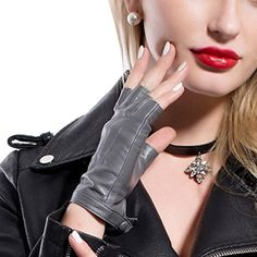 MATSU Women Sexy 4 Colors Fingerless Leather Gloves #504 (Medium, Gray) MATSU http://www.amazon.com/dp/B013LIHDAC/ref=cm_sw_r_pi_dp_Jj98vb0V3SAMG