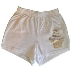 Soffe Ice Cream Rhinestone Camp Shorts