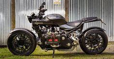 Kiwi Marcel van Hooijdonk shows how to fit a Subaru engine block in a motorcycle