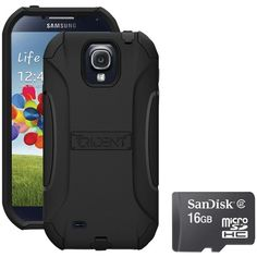 Trident S4 Aegis Case Blue With Sandisk Micro Sd 16gb