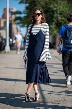What is worn on the New York Fashion Week: 5 piece (8 photos)