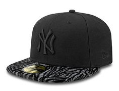 New York Yankees Original Animal 59Fifty Fitted Baseball Cap by NEW ERA x MLB