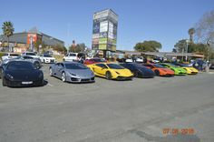 Under his Covering : Lamborghini RSA. Trinity Protection Services at Fast Fest.  Leaving from Boksburg News Cafe