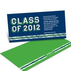Graduation Invitation - Collegiate Files