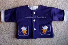 Southern Matriarch:  Children's Corner Robin's Little Jacket