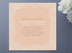 wedding stationary from minted