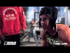 Kevin English Trains Dana Linn Bailey - Back Workout (Part I)
