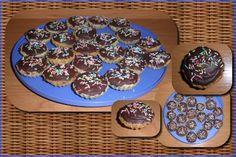 Oříškové košíčky s překvapením Christmas Cookies, Nutella, Pudding, Breakfast, Food, Xmas Cookies, Morning Coffee, Christmas Crack, Christmas Biscuits