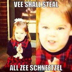 During her Deutsch days