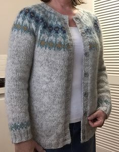 Ravelry: Knitoni's Hela Not So Short Cardigan with Buttons #1
