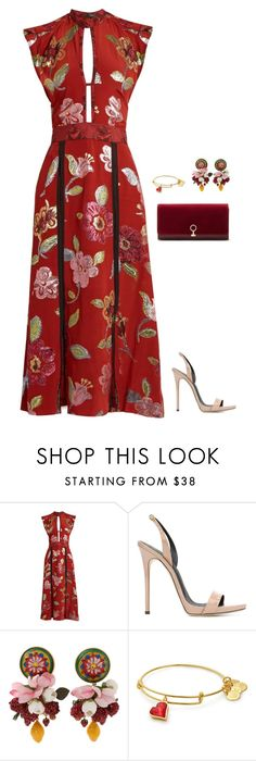 """""""Untitled #65"""" by tired-unicorn ❤ liked on Polyvore featuring Burberry, Giuseppe Zanotti, Dolce&Gabbana and Louise et Cie"""