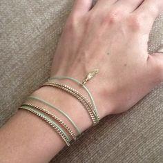 necklace as bracelets