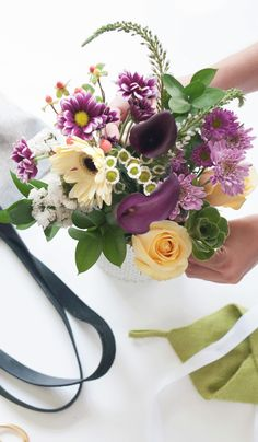 """Free delivery and 20% off your first bouquet with code """"STEMS20""""! These stylish blooms are arranged by our in-house designer and hand delivered within hours. You can't buy happiness, but you can send flowers. And that's pretty much the same thing."""