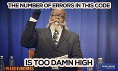 #codingjokes #repost #webdevlife #webdev #code #coding #programmer #programming #developers #webdevelopment #webdeveloper #rubyonrails #ruby #c #nerds #geeks #design #designer #html #css #bugs #debugging #java #javascript #php #sql #python  #webdevmemes