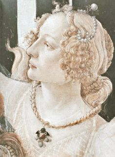 "nature-and-culture: ""Sandro Botticelli, Spring, detail. Via uffizigallery """