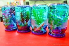 Creativity 521 #36 - DIY snow globe aquarium