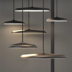 Nordlux Artist 25 LED Ceiling Pendant Light - Black As spectators, we are fascinated by uniquely crafted objects and get swept away by the atmosphere. This is also true about Artist, a sleek pendant that looks great both as a single lamp and Lamp, Lighting Design, Lamp Design, Nordlux, Pendant Lighting, Pendant Light Fitting, Lamp Light, Interior Lighting, Lights