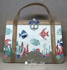 The Scrap n' Stamp Shop: CREATIVE CIRCLE DESIGN TEAM - Sara D. Signature Purse Blog Hop