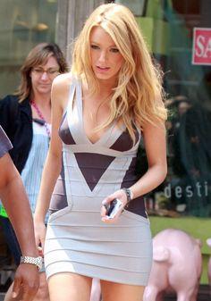 Blake Lively Herve Leger Dress Gossip Girl 2008