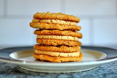 Bouchon Bakery's Peanut Butter Sandwich Cookies... totally making these on Thursday.