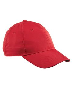 Adidas Performance Max Front-Hit Relaxed Cap in Power Red/ White, add embroided logo Adidas Adidas Golf, Logo Adidas, Red And White, Hats, Fabric, Cotton, Construction, Baseball Caps, Usa