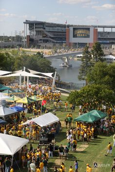 Tailgating at a Baylor Bears football game. #SicEm
