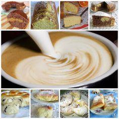 raccolta di dolci per la colazione torte soffici leggere e più sostanziose,cornetti golosi e morbidi per una colazione energetica e gustosa
