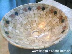 Bachas Artesanales Cuba, Mosaic Bottles, Serving Bowls, Vases, Decorative Bowls, Pots, Scrapbooking, Tableware, Ideas