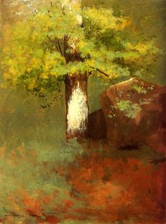 Odilon Redon | Odilon Redon L'albero 1875 « Lola's Curmudgeonly Musings on Life ...