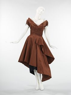 Charles James cocktail dress 1950