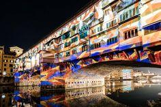 F-Light Festival, Ponte Vecchio, 2016