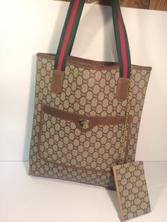 "My Gucci ""GG"" Plus Vintage Tote Shoulder Bag  by Gucci! Size  for $$350.00. Check it out: http://www.vinted.com/womens-bags/totes/22407755-gucci-gg-plus-vintage-tote-shoulder-bag."