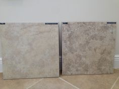 """Texas Bone and Beige tiles:  Standard floor tiles in the main living areas, baths and laundry.  18"""" ceramic.  2 of the 4 offered standard tiles"""