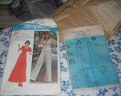 Vintage Simplicity 7117 Pattern - Dress, Top & Pants - Uncut