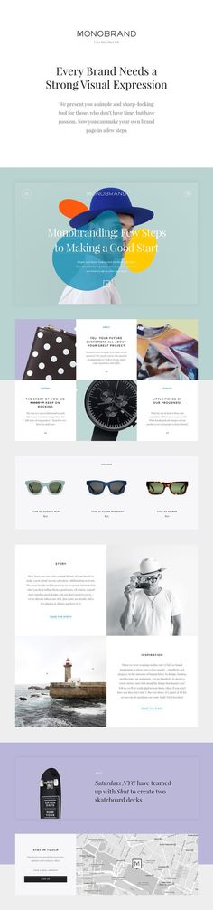 Monobrand UI Kit: