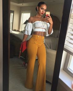 clothes and outfits Black Women Fashion, Look Fashion, Autumn Fashion, Fashion Outfits, Womens Fashion, Fashion Styles, White Fashion, Fashion Brands, Fashion Ideas
