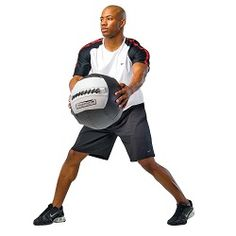 Exercise Equipment - Power Systems Dynamax Medicine Ball Accelerator I 8 lb.