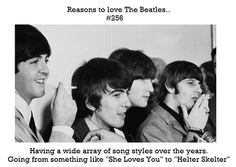 Reasons to love The Beatles #256