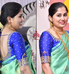 Salwar Neck Designs, Pattu Saree Blouse Designs, Blouse Designs Silk, Designer Blouse Patterns, Bridal Blouse Designs, Kids Blouse Designs, Simple Blouse Designs, Mirror Work Blouse Design, Design Studio