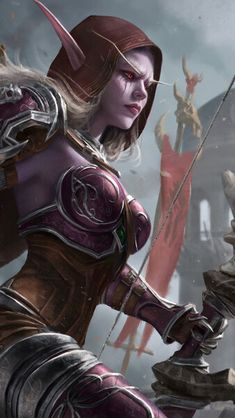 Sylvanas Windrunner The Horde Army WoW HD Mobile, Smartph. - Sylvanas Windrunner The Horde Army WoW HD Mobile, Smartphone and PC, Desktop, Laptop wallpaper resolutions. Warcraft Legion, Warcraft 3, World Of Warcraft Characters, Fantasy Characters, Lady Sylvanas, World Of Warcraft Wallpaper, Dnd Elves, Sylvanas Windrunner, Archery Girl