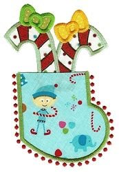 Christmas Pocket Applique 2 - 2 Sizes! | Christmas | Machine Embroidery Designs | SWAKembroidery.com Designs by Juju