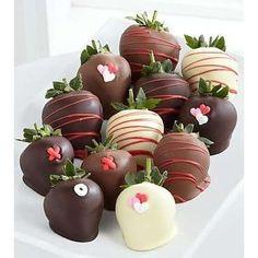 omg...chocolate covered strawberries!