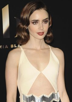 Lily Collins at the 20th annual Hollywood Film Awards in Los Angeles on November 7, 2016