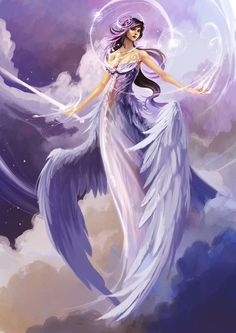 *ANGEL ~ The grace of the angels ever shower upon you... just ask