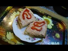 Salámová pomazánka - YouTube Cheesecake, Toast, Breakfast, Youtube, Food, Morning Coffee, Cheese Cakes, Eten, Cheesecakes