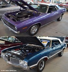 Name Your Muscle Car: Do you go with the 1970 Plymouth Cuda 426 HEMI or the 1970 Oldsmobile 442 W30 455?