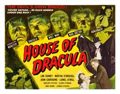 universal monsters poster - Google Search