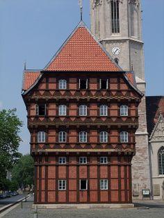 Alte Waage in Braunschweig, Germany by halleliebe, via Flickr