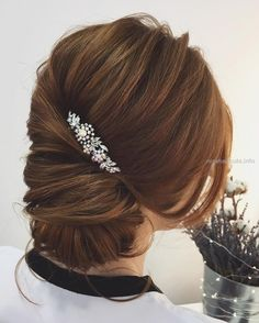 low bun twist updo hairstyle #weddinghair #updos #frenchupdos…  low bun twist updo hairstyle #weddinghair #updos #frenchupdos  http://www.nicehaircuts.info/2017/06/04/low-bun-twist-updo-hairstyle-weddinghair-updos-frenchupdos/